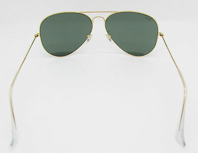 507af97853a 3 of 10 Ray Ban Aviator RB 3026 L2846 Gold Frame G15 Green Lens Large 62mm  Sunglasses