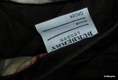 5 sur 11 BURBERRY Manteau matelassé marron intérieur tartan 44 XL quilted  coat f0026af98e81