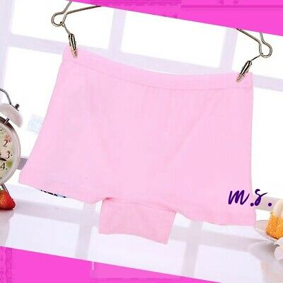 4 pack Girls COTTON knickers pants briefs boxers shorts underwear Age 2-11 years 5