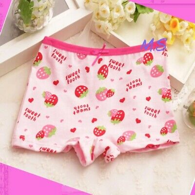 Girls COTTON knickers pants briefs 6 pack boxers shorts age Age 2 4 5 6 7 8 9 Yr 11