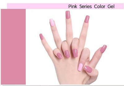 LILYCUTE® Nail Gel Polish UV LED Soak Off Colour Manicure Base No Wipe Top coat 4