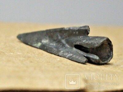 Scythian Bronze ARROWHEAD 4 - 5 century !!! O R N A M E N T E D !!! 6