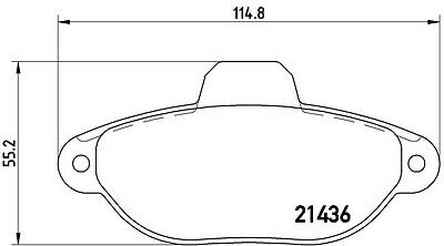 Kit Dischi freno e pastiglie BREMBO Fiat Panda 2 169 1.1 1.2 dal 2003 anteriori 3