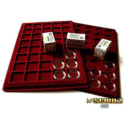 ( ProSHULZ ) COIN CAPSULES - All Internal Sizes 14mm - 42mm (10, 30, 50, 100pcs) 6