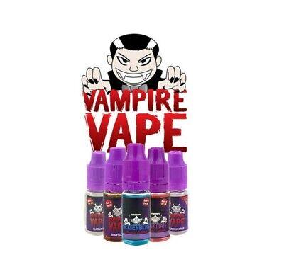 Vampire Vape e liquid 5 x 10ml £10.99* Heisenberg Blackjack Pinkman ejuice 2