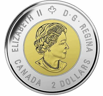 200th Anniversary Canada 1st Prime Minister Sir John A Macdonald $2 Coin. 2
