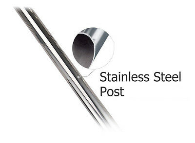 3x 3m Retractable Queue Crowd Barriers Crowd Control (Silver Pole & Black Belt) 9