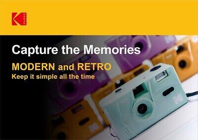 NEW - Kodak Vintage retro M35 35mm Reusable Film Camera - US 2