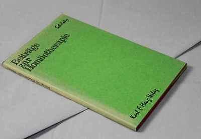 Beiträge zur Homöotherapie - Sammlung Puplikationen v. Dr. B.Schilsky 1966 /S196 3