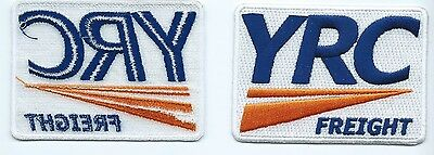 YRC FREIGHT (YELLOW Roadway Corporation)Truck Driver patch White 2-1/2 X  3-3/8
