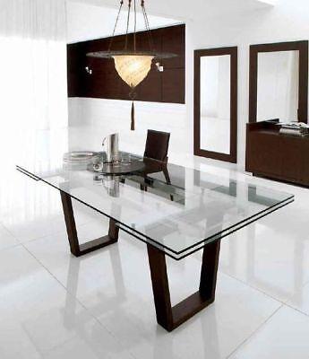2X PIEDI per tavolo, Gambe tavolo metallo finish nero bianco ...