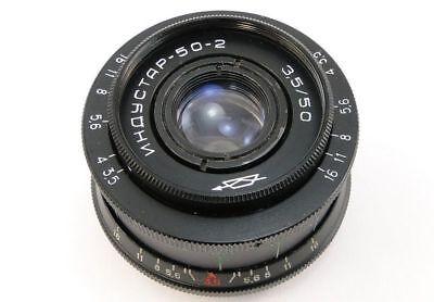⭐ CLA'd ⭐ 1974! INDUSTAR 50-2 USSR Lens E-Mount Sony A 7 7R 7S 7 II III A9 a6000 3