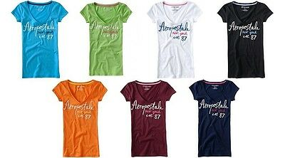 New Aeropostale Womans Lot Of 25 T-Shirts Size Small Wholesale Nwt