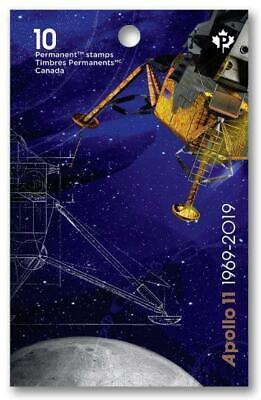 2019 Canada 📭 🚀APOLLO 11 🚀50 Years MOON🌘 LANDING - PAIR of MNH Stamps 📬 2