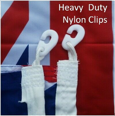 **FREE SHIPPING** HEAVY DUTY 1800x900 Australian Flag Polyester Sister Clips 2