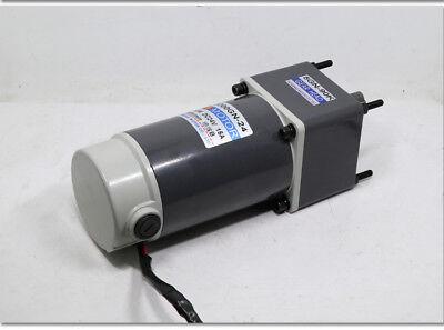 40W 50 rpm Gear Motor Worm Gear Gearbox Worm Gear Reducer RV Motor DC 12V/24V 5