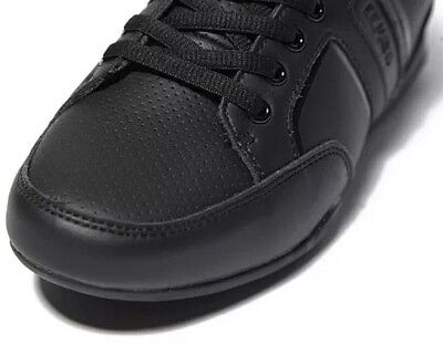 New Boys DEAKINS NORMA Leather Lace Up Black School Shoes Trainers Kids Sizes UK