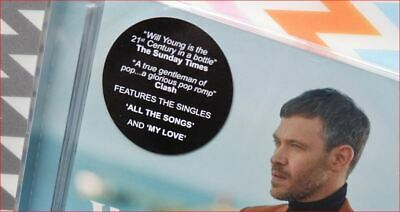 """Will Young New Sealed Fast Freepost 2019 UK#1 album """"Lexicon"""" CD Ground Running 3"""