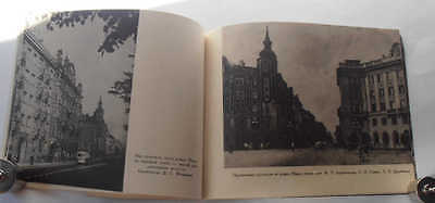 1955 USSR Russian Soviet Architecture KIROVSKY AVENUE Illustrated Photo Album 10 • CAD $34.02