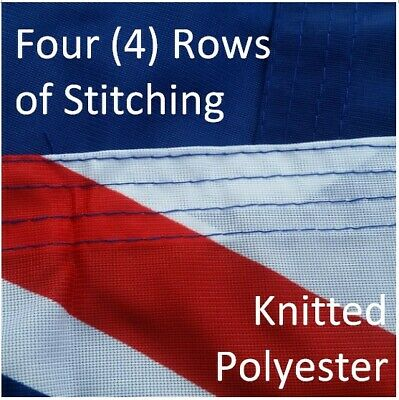 **FREE SHIPPING** HEAVY DUTY 1800x900 Australian Flag Polyester Sister Clips 4