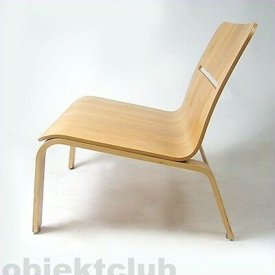 David Design Bowie Sessel Stuhl Plywood Chair Schweden 1990er