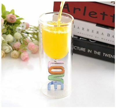 Love Heat Drinking Glass Set for Valentines Wedding Anniversary Occasions Gift 4