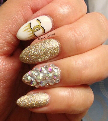 7e0705d9b03be4 ... GORGEOUS Swarovski Rhinestones for Nail Art - Crystal AB-Several Sizes  Available 2