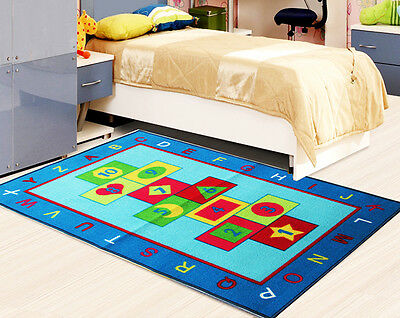 Kids Bedroom Rugs Boys Girls Soft Nonslip Floor Children Playroom Mat Fun Carpet 9 92 Picclick Uk