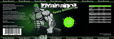 Dyanabol Testo Booster pour Rapide Musculation Extrème Testostérone Booster 7