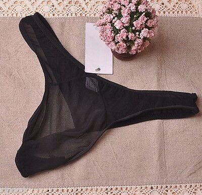 String M L Transparent Sexy Homme Thong Erotique Underwear Man Men Uomo Mann 5