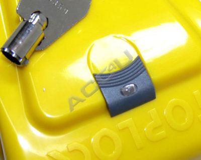 StopLock Original Robust High Security Flashing LED Car Van Steering Wheel Lock 3