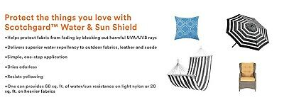 1 TO 3 3M Scotchgard Water and Sun Shield with UV Protector 10.5-Ounce EACH 3