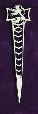 Scottish Lionheart Chrome Scottish Kilt Pin 4 Kilts New Gift Boxed Sale Price 2