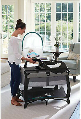 Graco Baby Pack 'n Play Quick Connect Portable Napper Playard Darcie NEW 5