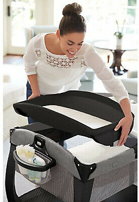 Graco Baby Pack 'n Play Quick Connect Portable Napper Playard Darcie NEW 8