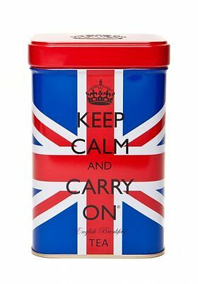 Keep Calm And Carry On/Premium/Ground/Coffee/Gift/Tin/New 4
