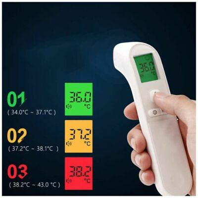Medical NON-CONTACT Body Forehead IR Infrared Laser Digital Thermometer 2