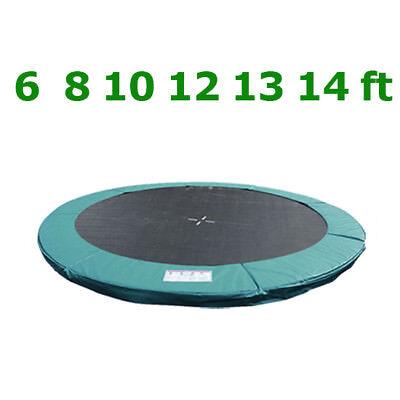 Coussin de ressort + Filet de sécurité pour trampoline 183cm 244cm 305cm 366cm 2