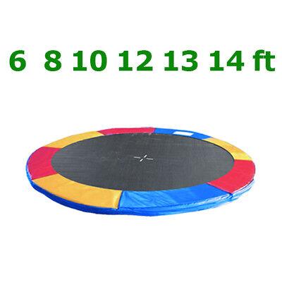 Coussin de ressort + Filet de sécurité pour trampoline 183cm 244cm 305cm 366cm 4