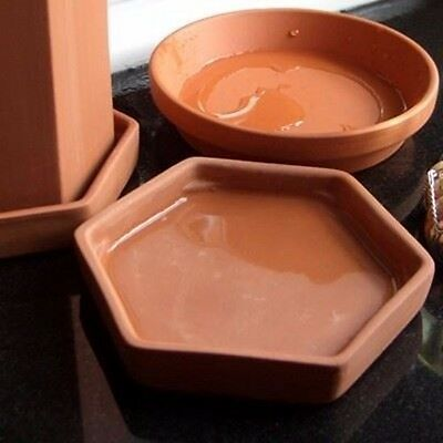 Terracotta Wine Cooler with Saucer 2 • AUD 40.15