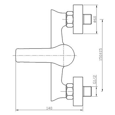 Armatur Dusche Hohe - Konzept Armaturen