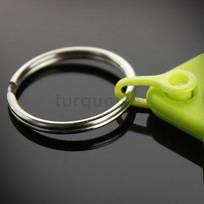 Personalised Custom Photo Gift Gel Keyrings Key Fobs 45 x 35 mm | Passport Size 12
