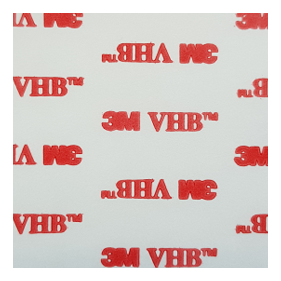 CLEAR Double Sided Sticky Pads, 3M VHB 4910 Strong Heavy Duty Adhesive Tape 3