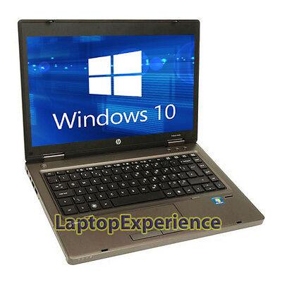 "HP LAPTOP COMPUTER PROBOOK WINDOWS 10 WIN 14"" 2.1GHz 4GB 320GB NOTEBOOK PC WiFi 4"