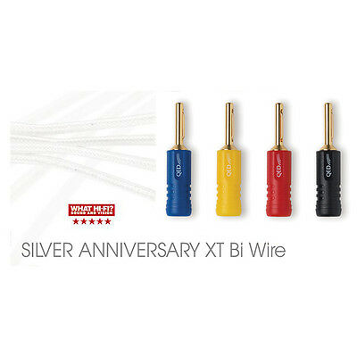 QED SILVER ANNIVERSARY XT BI-WIRE Speaker Cable * Unterminated ...