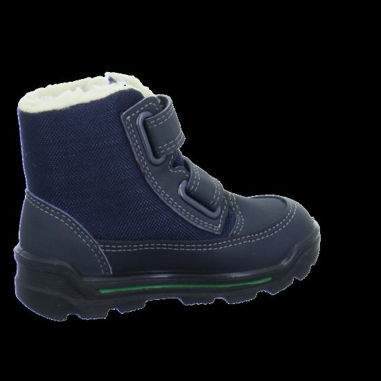 Jungen Schuhe Ricosta Stiefel Klett grigio//pea Velour Sympatex BODIN Gr.29