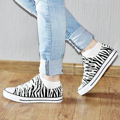 Damen Sneaker Schnürer 99439 Halb Schuhe Größen 36-41 Trendy