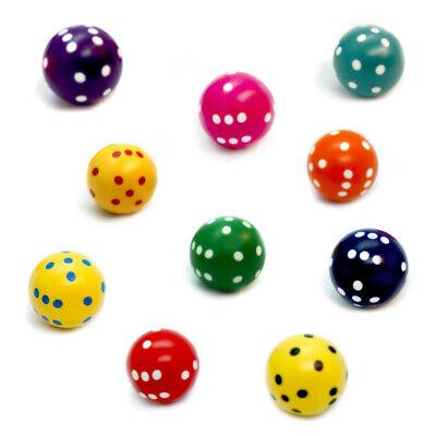 Würfel Kugel Spezialwürfel in verschiedene Farben Rundwürfel Ball-Würfel