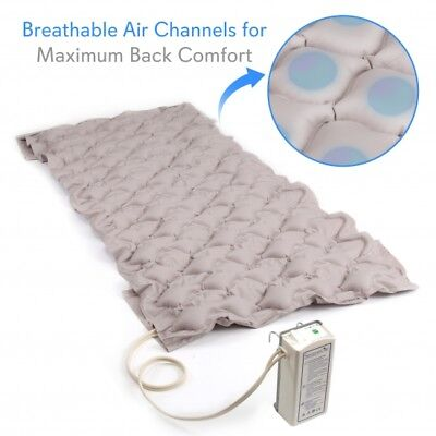 SereneLife Hospital Bed Air Mattress - Bubble Pad Mattress w/ Electric Air Pump 3