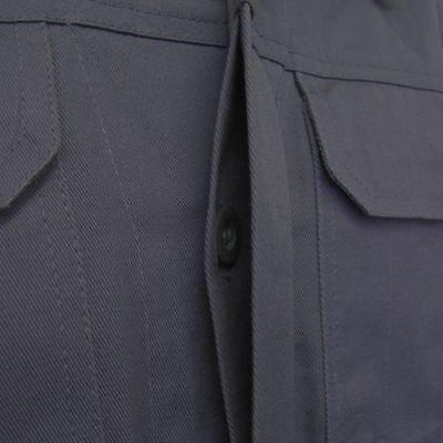 Arbeits-Jacke Bundjacke 100% Baumwolle grau Gr.S-5XL